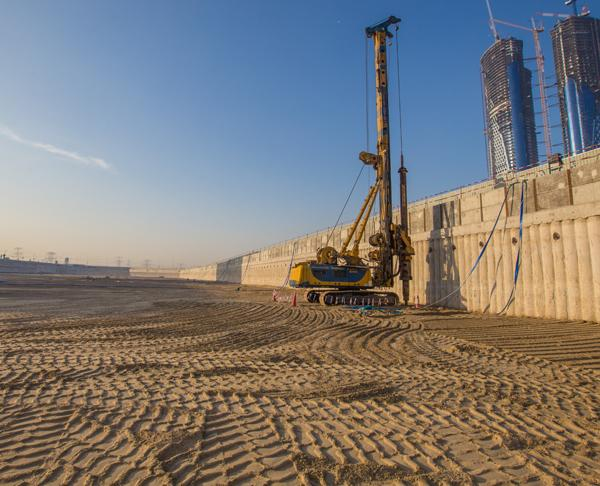 Middle east foundations groups llc for Hotel dubai design district